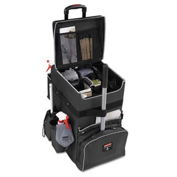 Executive Quick Cart, Large, 14 1/4 x 16 1/2 x 25, Dark Gray