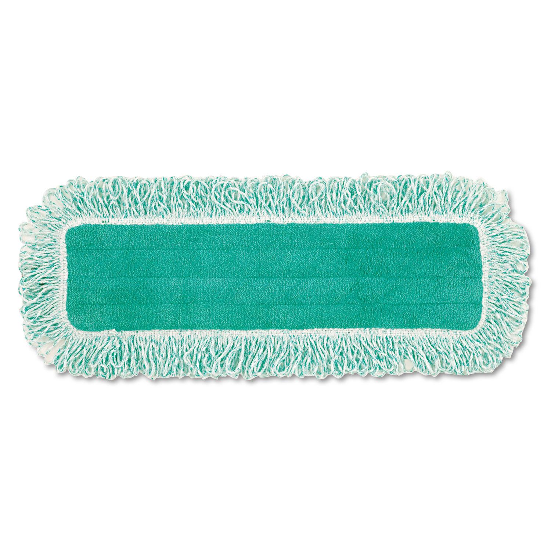 "Dust Pad w/Fringe, Microfiber, 18"" Long, Green"