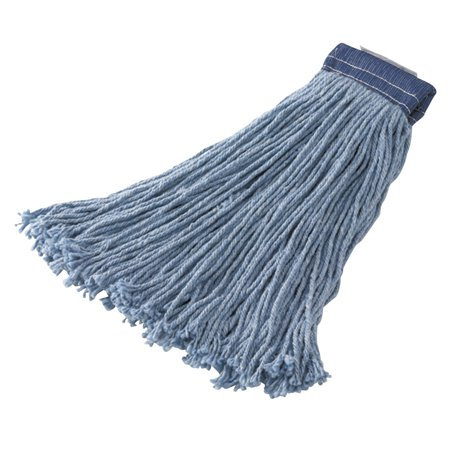 Non-Launderable Cotton/Synthetic Cut-End Wet Mop Heads, Ctn/Syn, 32oz, BE,12/CT