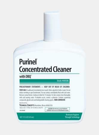 Purinel Drain Maintainer/Cleaner, 9.8oz Refill, Use w/AutoClean Systems, 6/CT