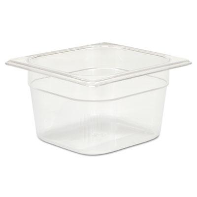 Cold Food Pans, 1 2/3qt, 6 3/8w x 6 7/8d x 4h, Clear