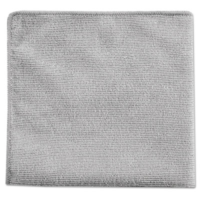 Executive Multi-Purpose Microfiber Cloths, Gray, 12 x 12, 24/Pack