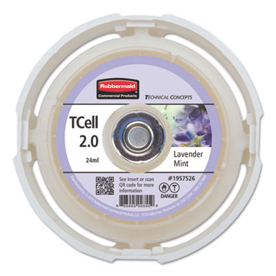 TC TCell 2.0 Air Freshener Refill, Lavender Mint, 24 mL Cartridge, 6/Carton