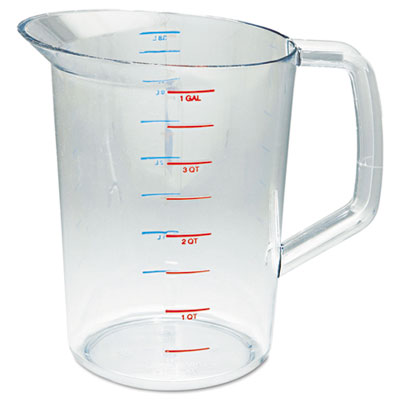 Bouncer Measuring Cup, 4qt, Clear