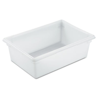 Food/Tote Boxes, 12.5gal, 26w x 18d x 9h, White