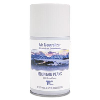 Standard Aerosol Refill, Mountain Peaks, 6oz, 12/Carton