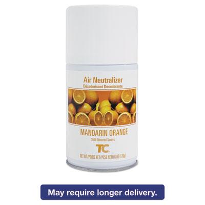 Standard Aerosol Refill, Mandarin Orange, 6oz, 12/Carton
