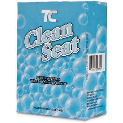 TC Clean Seat Foaming Refill, Unscented, 400mL Box, 12/Carton