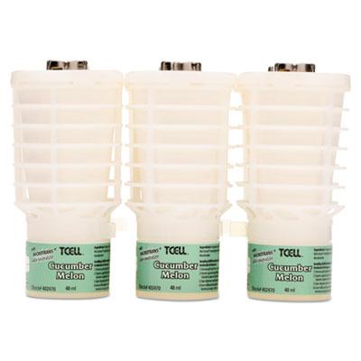 TCell Microtrans Odor Neutralizer Refill, Cucumber Melon, 1.62 oz, 6/Carton