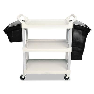 Xtra Utility Cart, 300-lb Cap, Three-Shelves, 20w x 40-5/8d x 37-4/5h, Gray