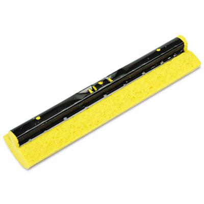 """Mop Head Refill for Steel Roller, Sponge, 12"""" Wide, Yellow"""