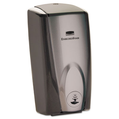 AutoFoam Touch-Free Dispenser, 1100mL, Black/Gray Pearl