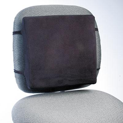 Back Perch w/Fleece Cover, 13w x 2-3/4d x 12-1/2h, Black, 10/Carton