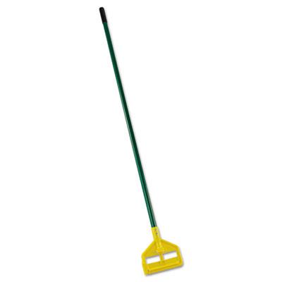 """Invader Side-Gate Wet-Mop Handle, 60"""", Green, Fiberglass"""