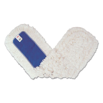 Dust Mop Heads, Kut-A-Way, White, 36 x 5, Cut-End, Cotton