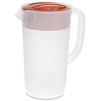 COVERED PITCHER 2-1/4QT