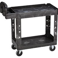 CART UTILITY SMALL HDUTY BLACK