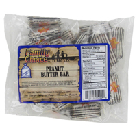 PEANUT BUTER BAR 8 OZ