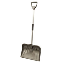 SHOVEL SNOW POLY CMB BLDE 18IN