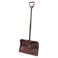 SHOVEL SNOW POLY CMB BLDE 20IN