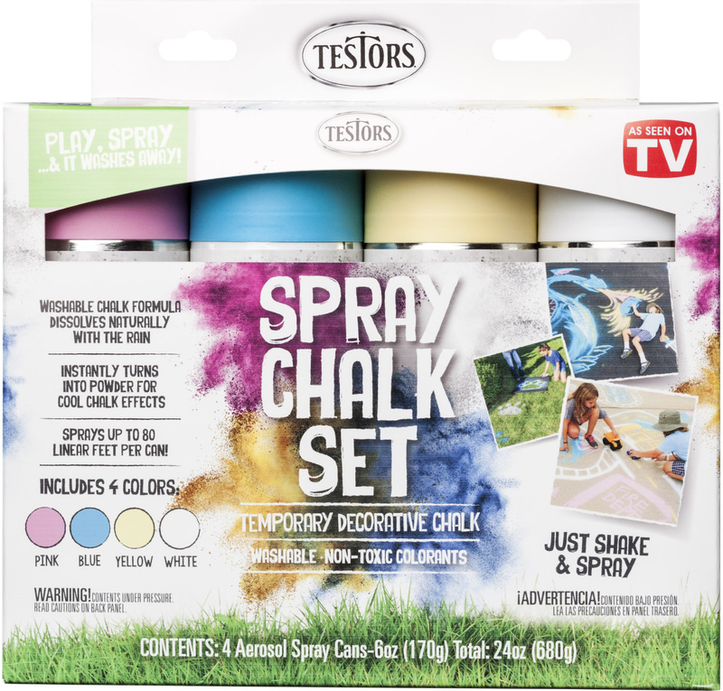 306006 4PK SPRAY CHALK