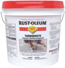 RUST-OLEUM�TURBOKRETE�CPS 5494 SYSTEM CONCRETE PATCHING COMPOUND, 3.5 GALLON KIT