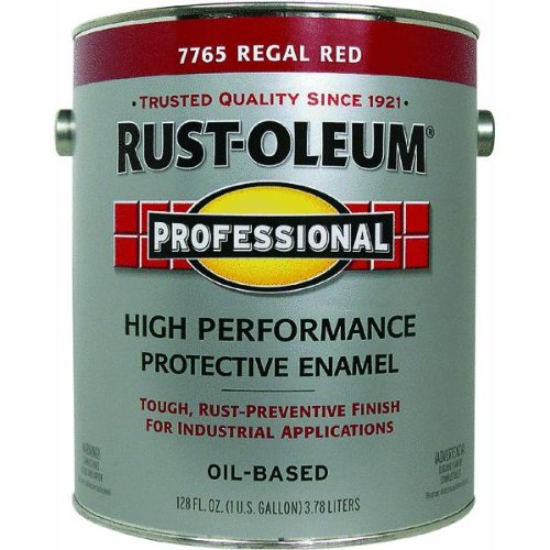 1 Gallon Regal Red Enamel Paint