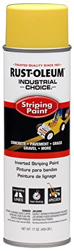 18-OUNCE YELLOW STRIPING SPRAY