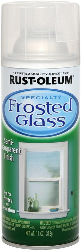 11 ONCES SPRAY FROSTED GLASS FINISH