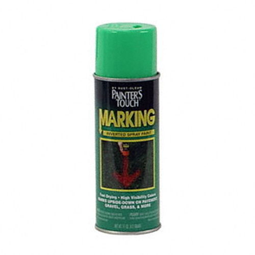 11-Ounce Specialty Spray Marking, Fluorescent Green Paint