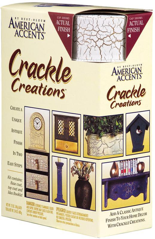 7971 Spray Ivory Crackle Creation