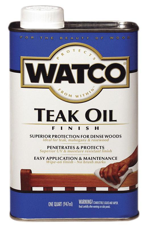 67141 QT INT/EXT TEAK OIL