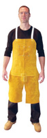 "Radnor+ 24"" X 36"" Split Leg Leather Bib Apron"