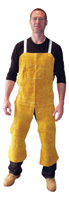 "Radnor+ 24"" X 48"" Split Leg Leather Bib Apron"