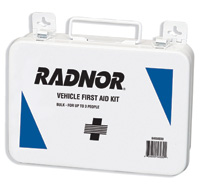 Radnor+ 3 Person Vehicle First Aid Kit In Metal Case