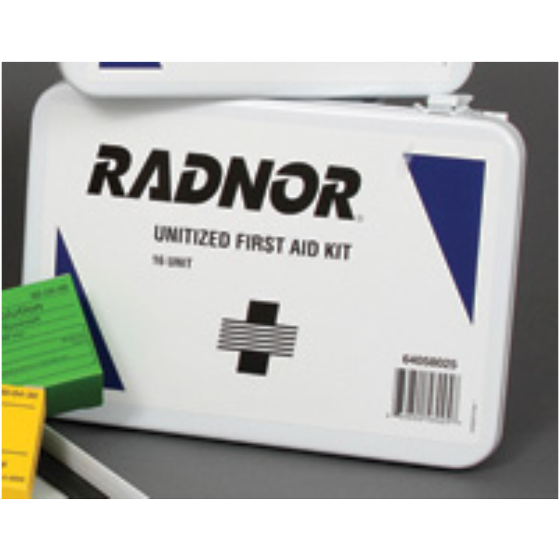 Radnor+ 16 Person Unitized First Aid Kit In Metal Case