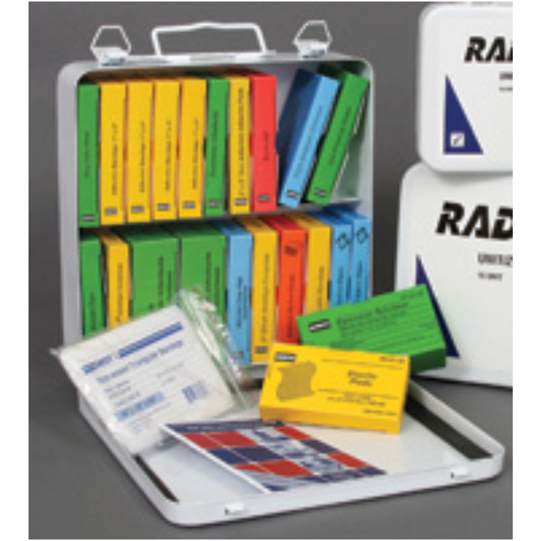 Radnor+ 24 Person Unitized First Aid Kit In Metal Case