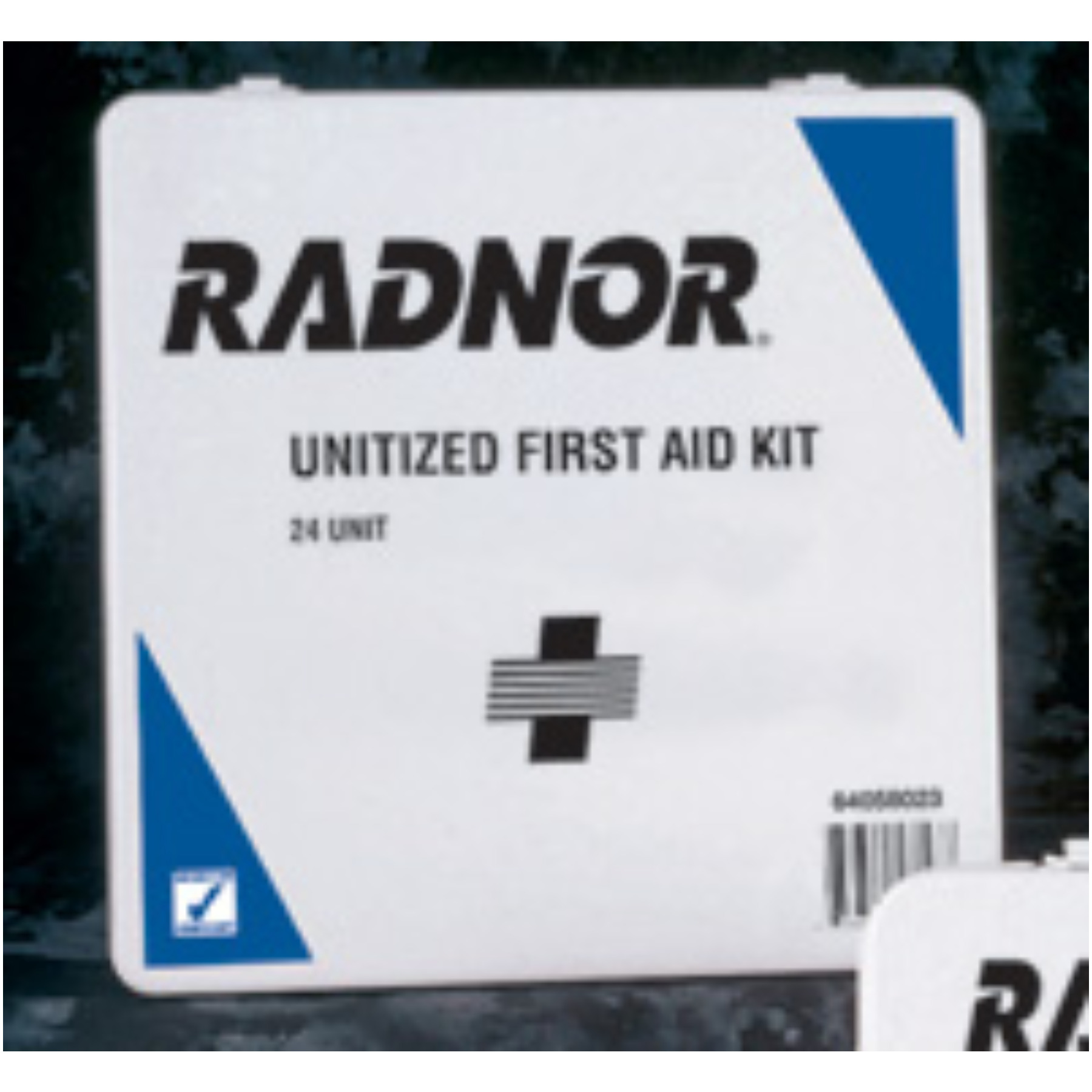 Radnor+ 24 Person Unitized First Aid Kit In Plastic Case