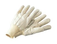 Radnor+ Mens 10 Ounce Cotton/Polly Canvas Gloves With Knit Wrist