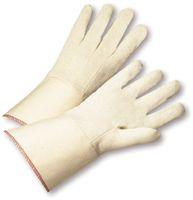 "Radnor+ Men's 12 Ounce Gauntlet Canvas Glove With Starched 4"" Gauntlet Cuff"