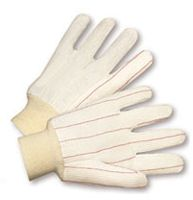 Radnor+ Large 18 Ounce Cotton/Poly Corded Canvas Glove With Double Palm And Knitwrist