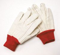 Radnor+ Jumbo 18 Ounce Cotton/Poly Blend Glove With Double Palm, Nap-In And Knitwrist