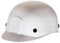 Radnor+ White Polyethylene Bump Cap  With Adjustable Headband
