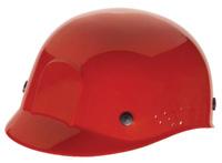 Radnor+ Red Polyethylene Bump Cap  With Adjustable Headband