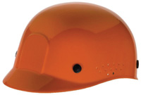 Radnor+ Orange Polyethylene Bump Cap  With Adjustable Headband