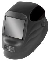 "Radnor+ Black 45P Fixed Front Welding Helmet With 4 1/2"" X 5 1/4"" Shade 10 Passive Lens"