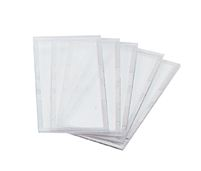 """Radnor+ 2"""" X 4 1/4"""" Clear Polycarbonate Safety Cover Lens"""