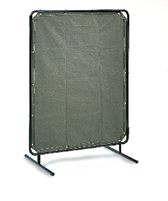 Radnor+ 6' X 6' 14 MIL Blue Transparent Vinyl Replacement Welding Screen