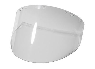 "Radnor� 9"" X 15 1/2"" X .060"" Clear Polycarbonate Faceshield"