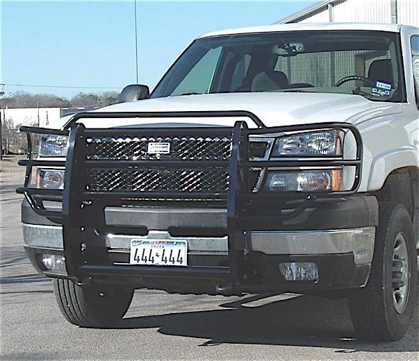 03-07 SILVERADO 2500HD/3500 LEGEND GRILLE GUARD